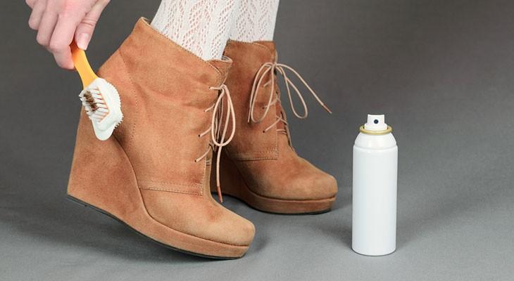 Как в домашних условиях почистить обувь из нубука в домашних условиях