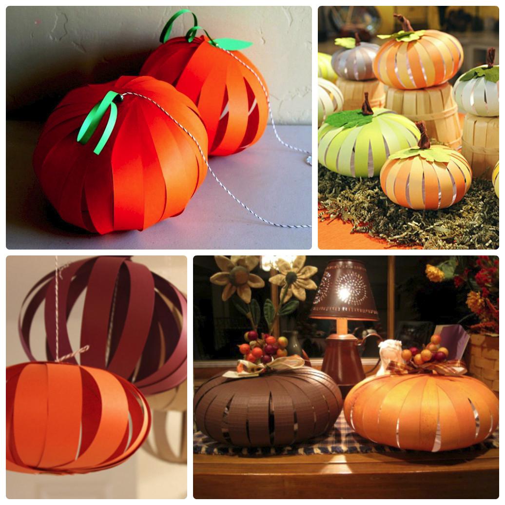 Как сделать тыкву для хэллоуина своими руками 204