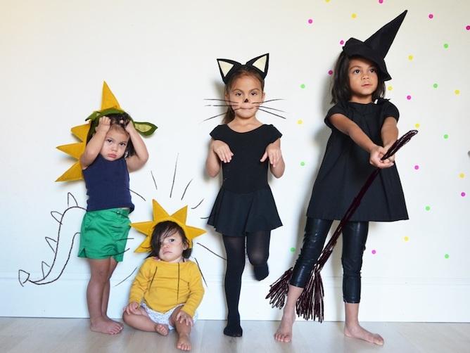 Костюм на хэллоуин своими руками для девочки
