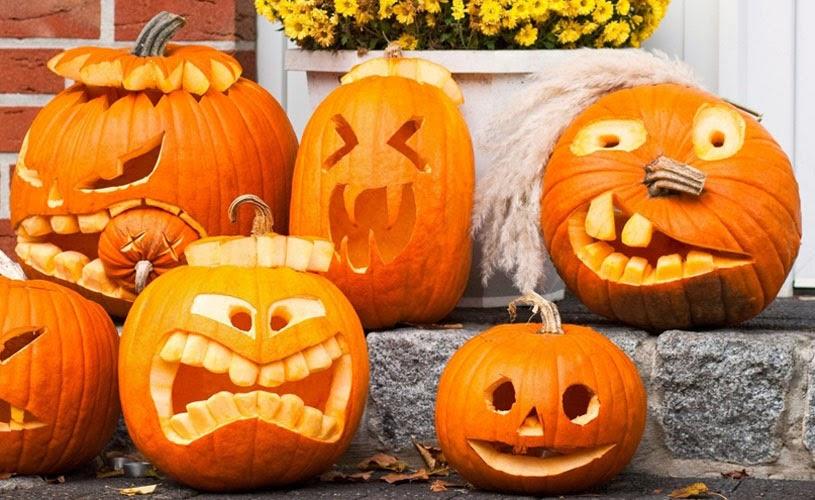 Фонарь из тыквы на Хэллоуин: инструкция к действию