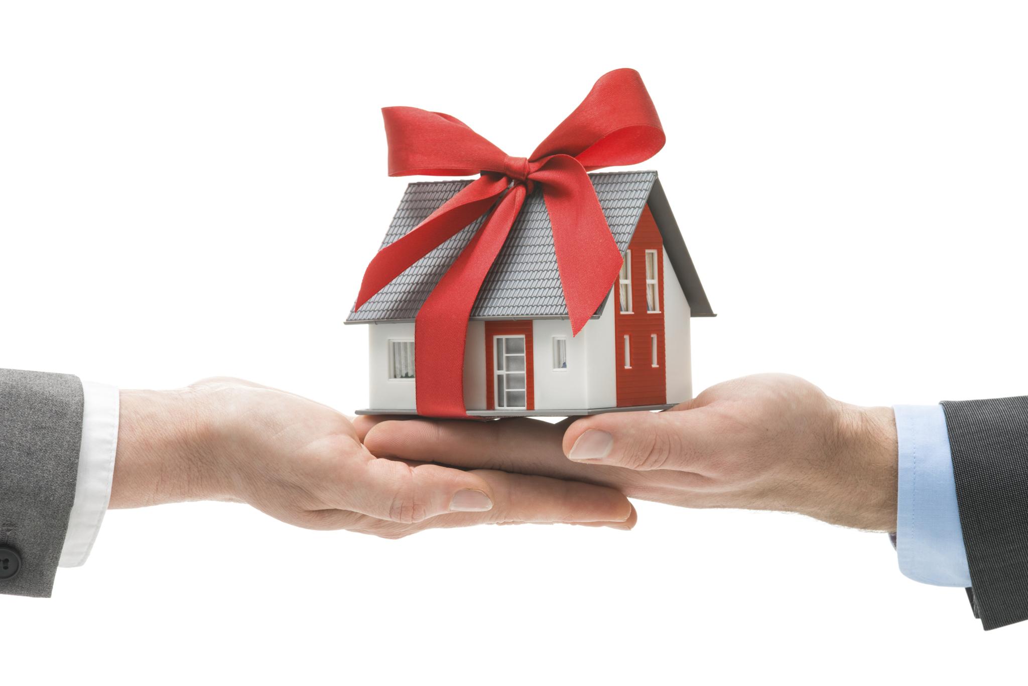 Есть ли налог на подаренный дом