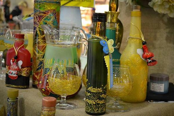 Тарелка из бутылки своими руками