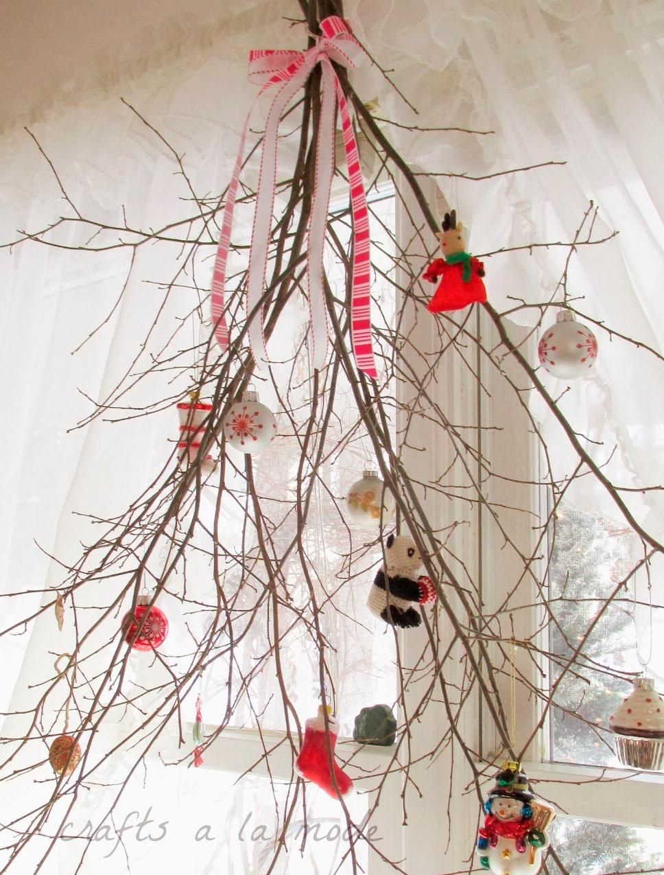 Новогод ветки своим руками - Luboil.ru