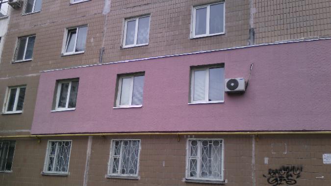 Комбинированный фасад дома из штукатурки