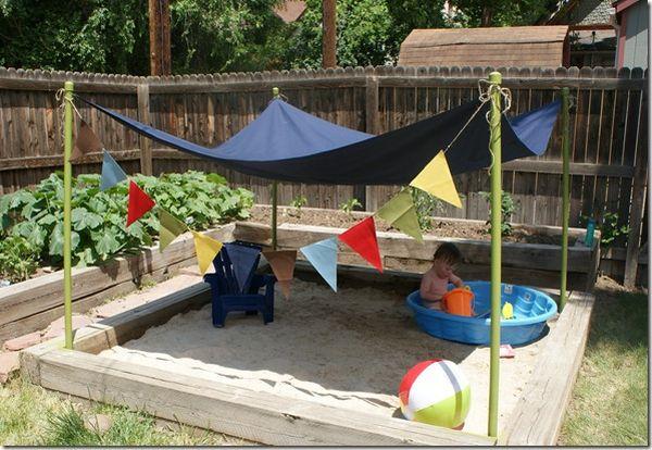 Как своими руками оборудовать детскую площадку
