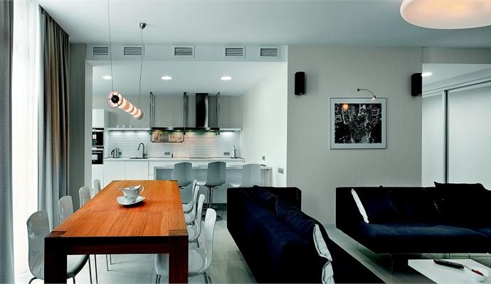 Интерьер дизайн кухни 9 кв.м