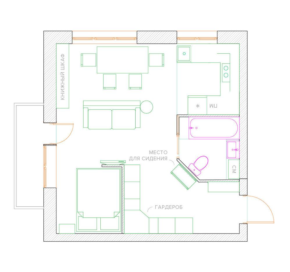 Квартиры 121 серии дизайн - Фото - Делаем ремонт в