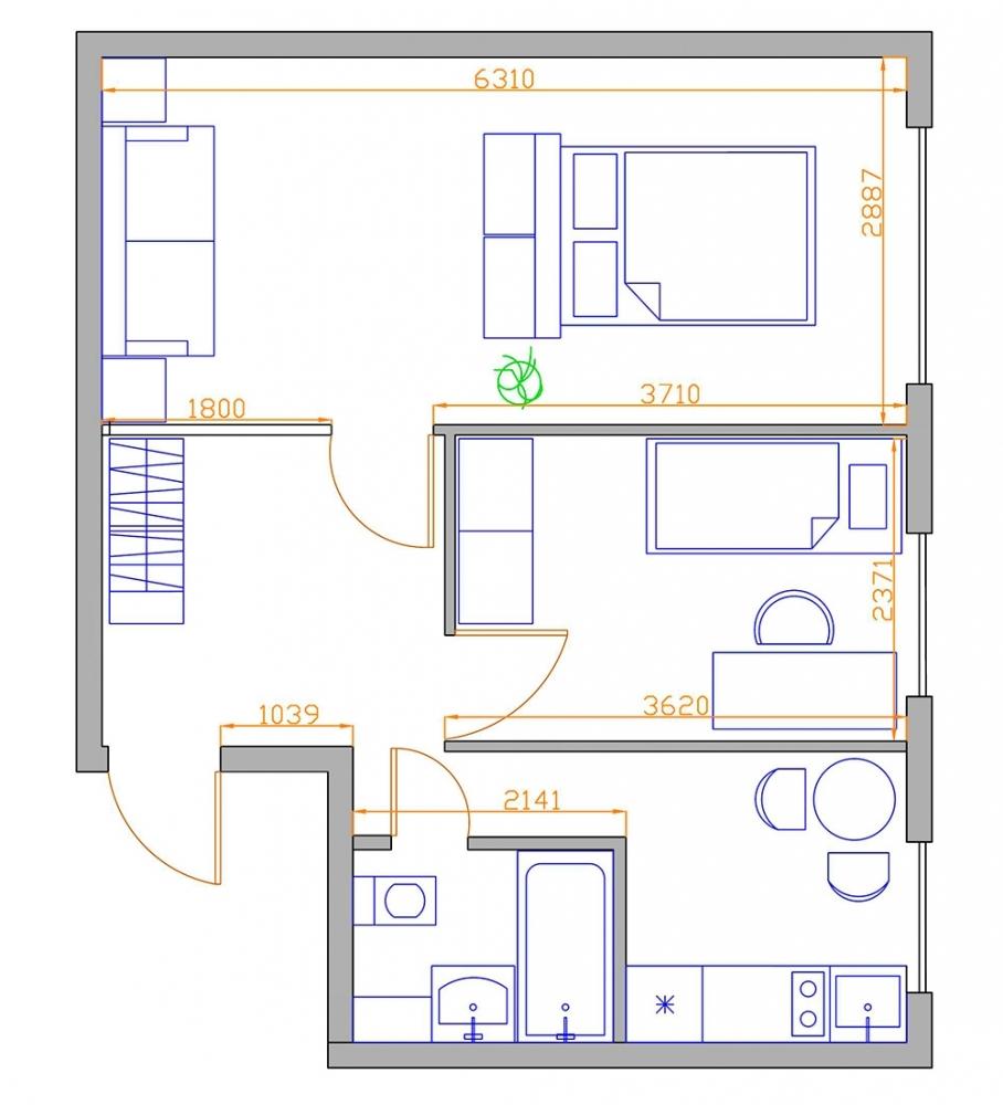 Обмен трехкомнатной квартиры на 58