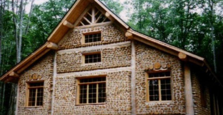 Экономичный дом своими руками видео