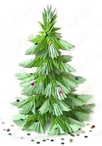 Новогодние елки своими руками. Фото