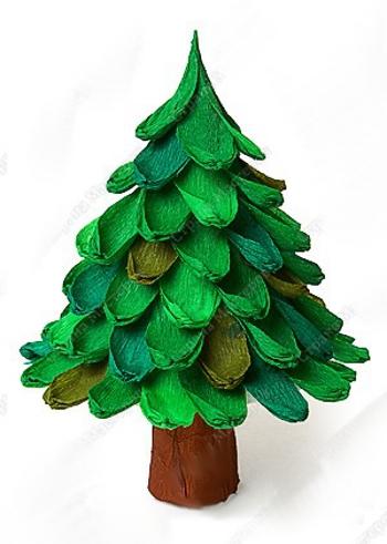 Новогодние поделки своими руками елки фото
