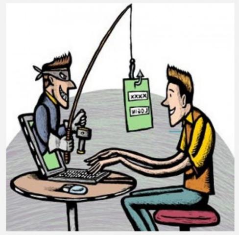 Рисунок на тему мошенничество