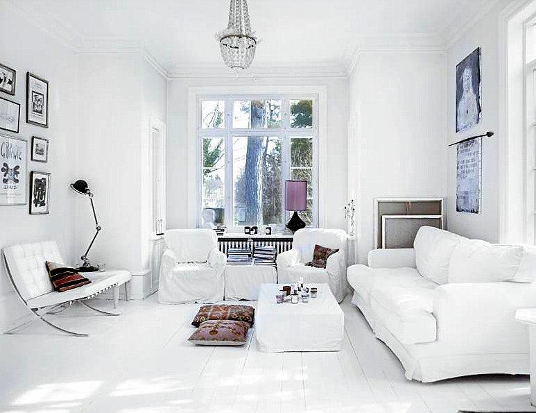 видео интерьера квартиры в белом цвете