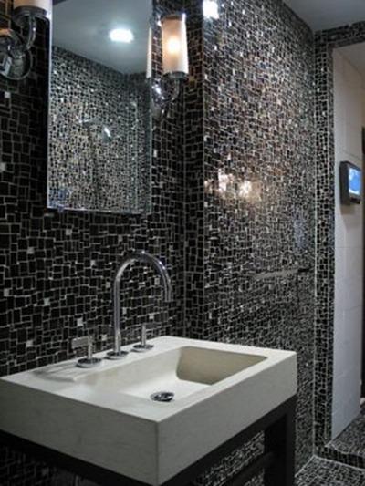 Ремонт ванной комнаты плитка и мозаика