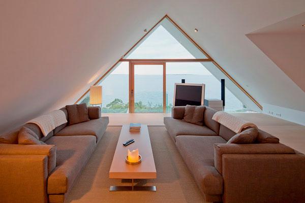 Дизайн треугольной комнаты фото