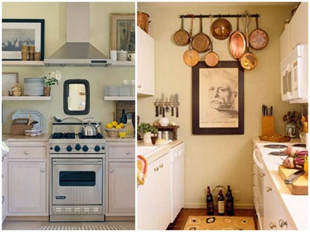 Своими руками для интерьера маленькая кухня 92