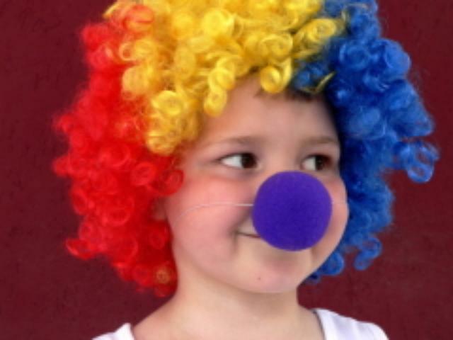 Как сделать своими руками парик клоуна