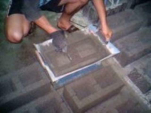Как своими руками сделать пескоблоки