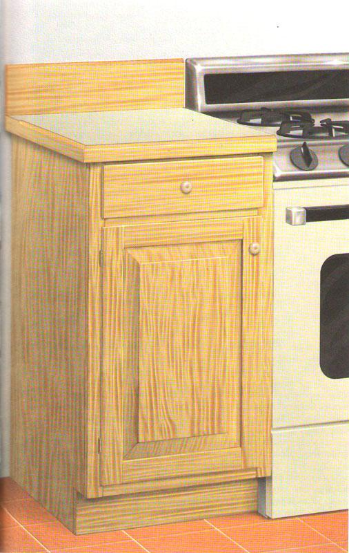 Шкафы кухонные напольные своими руками