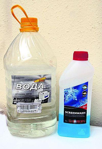 Как сделать воду для аккумулятора